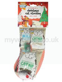 Good Girl Xmas Cat Stocking